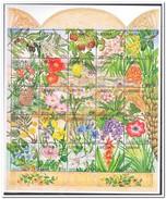 Liberië 1996, Postfris MNH, Flowers - Liberia