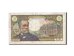 France, 5 Francs, 1966, 1966-11-04, KM:146a, TB+, Fayette:61.4 - 5 NF 1959-1965 ''Victor Hugo''