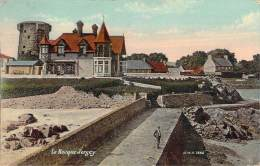 Jersey - La Rocque (villa) (colorisée Trichromatic Vernie) (cad La Rocque 1909) - Jersey