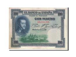 Espagne, 100 Pesetas, 1925, KM:69c, 1925-07-01, SUP - [ 1] …-1931 : Primeros Billetes (Banco De España)