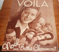 Voilà. N°455. 22 Décembre 1939. Noël Aux Buttes Chaumont. Iles Au Trésor. La Chance D'être Obèse. - Livres, BD, Revues