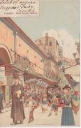 095- CARTOLINA - FIRENZE - PONTE VECCHIO (INTERNO)  - VIAGGIATA NEL PRIMISSIMO '900 - Firenze
