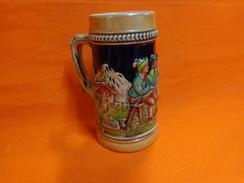 Chope Ancienne --dann Trink Und Lach-ir 9t Machdein Sach Hauteur 13cm - Other Collections