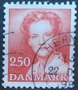 DINAMARCA 1983 Queen Margrethe II. USADO - USED. - Dinamarca