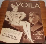 Voilà. N°342. 8 Octobre 1937. Médrano. Légionnaire. Clarck Gable Et Carole Lombard. Ecoles De Charme. - Livres, BD, Revues
