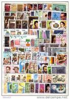 CUBA  100 Timbres Commémoratifs Tous Différents  – Oblitérés - Sellos