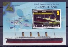 Ascension - 2012 - ** 100th Anniversary Of The Loss Of The RMS TITANIC ** - Ascension (Ile De L')