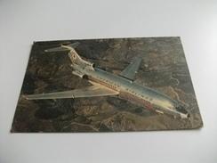 AEREO IN VOLO  AMERICAN AIRLINES ANNULLO ROSSO - 1946-....: Era Moderna