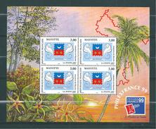 Bloc N°1  De Mayotte De 1999 Neuf ** - Mayotte (1892-2011)