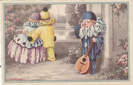 Pierrot-Spiele - Sign. Bertiglia - 1929    (170324) - Bertiglia, A.