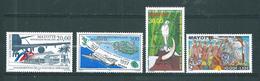 PA  De Mayotte De 1997/99  N°1 A 4  Neuf ** Parfait - Mayotte (1892-2011)
