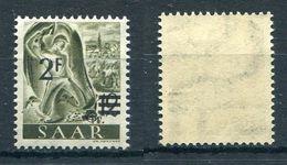 Saarland Michel-Nr. 229Y Postfrisch - 1947-56 Allierte Besetzung