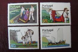 Portugal - Madère - Yvert N° 98/101 Neufs ** - Madeira