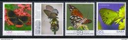 Karibische Niederlande 'Schmetterlinge' / Dutch Caribbean 'Butterflies' **/MNH 2017 - Butterflies