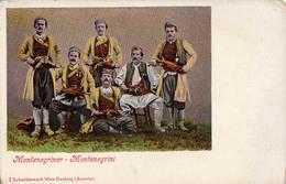 MONTENEGRINER / MONTENEGRINI - ANNÉE / YEAR ~ 1910 - RARE !!! (v-797)