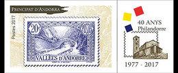 Andorra / Andorre - Postfris / MNH - 40 Jaar Filatelie In Andorra 2017 - Ongebruikt