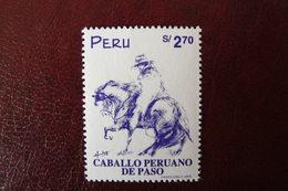 Pérou - Yvert N° 1130 Neuf ** - Cheval Et Cavalier - Perù