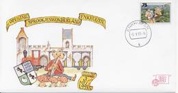 Enkhuizen Nr. 27 - 1991 - Blanco / Open Klep - Periodo 1980 - ... (Beatrix)