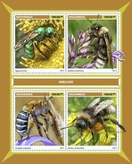 Mozambico 2017, Animals, Bees, 4val In BF - Honeybees