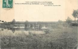 """CPA FRANCE 70 """"Env. De Beaumotte Les Montbozon, Le Pont De Blarians"""" - Altri Comuni"""