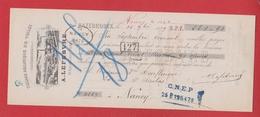 Chèque --  Tissage Mécanique De Toiles à Hazebrouck  --   1899 - Chèques & Chèques De Voyage