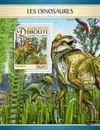 Djibouti - Postfris / MNH - Sheet Dinosaurussen 2017 - Djibouti (1977-...)