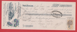 Chèque --  Manufacture D Articles De Ménage --  Pont à Mousson --1932 - Cheques & Traveler's Cheques