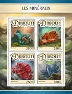 Djibouti - Postfris / MNH - Sheet Mineralen 2017 - Djibouti (1977-...)