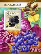 Djibouti - Postfris / MNH - Sheet Orchideën 2017 - Djibouti (1977-...)