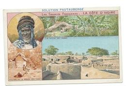 La Côte D'Ivoire Colonies Françaises Ville De Kong  TB 14 X 9 Cm Pub: Solution Pautauberge - Chromos
