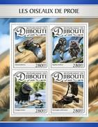 Djibouti - Postfris / MNH - Sheet Roofvogels 2017 - Djibouti (1977-...)