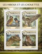 Djibouti - Postfris / MNH - Sheet Uilen 2017 - Djibouti (1977-...)