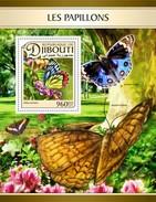 Djibouti - Postfris / MNH - Sheet Vlinders 2017 - Djibouti (1977-...)