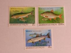 AZERBAÏJAN  1993  LOT#1  Fish - Azerbaïdjan