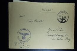 DR:  1940 - 1944 7 Feldpost-Belege (7 E-Briefe) Von Nebelwerfer- Einheiten - Deutschland