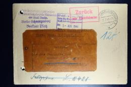 DR: Feldpost Brief 1941  10428 Luftflotten-Kommando2 Mit Dokumenten Familieunterhalt / Kriegsbesoldung - Germania