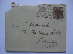 INDIA - George V 1934 Cover -  Ambala To Kasauli - With RAF Insignia - Per Ardva Ad Astra - 1911-35 Roi Georges V