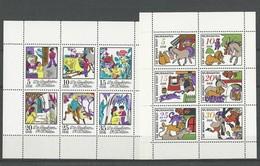 Allemagne DDR: 1407/ 1412 + 1493/ 1498 ** En Feuillets (Contes Pour Enfants) - Contes, Fables & Légendes