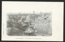 COMMENTRY Rare Tranchée De Longeroux (Bonnet) Allier (03) - Commentry