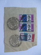 GB - Forth Road Of Bridge Piece - With Special First Day Postmarks - Briefe U. Dokumente