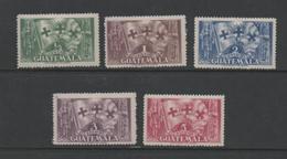 Guatemala 1933 Columbus From Palos Anniversary Stamp Set.Mint. - Guatemala