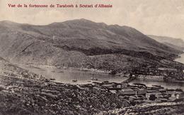 FORTERESSE De TARABOSH à SCUTARI D'ALBANIE / SHKODRA / SHKODËR - ANNÉE / YEAR ~ 1910 - '12 - RARE !!! (v-800) - Albania