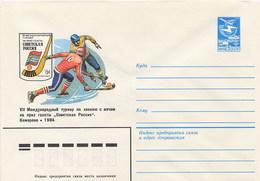 RUSSIA - HOCKEY ON ICE - Intero Postale - Hockey (su Ghiaccio)