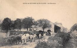 49-SAINT-HILAIRE- ECOLE DE REFORME  DE ST HILAIRE, LES BOUVIERS - Otros Municipios