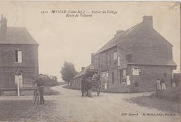 RIVILLE  Entrée Du Village  Route De Valmont - France