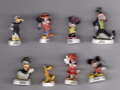 Série Complète 10 Fèves Mâtes MICKEY ET SES AMIS - ARGUYDAL 2003 Pour CARREFOUR - Disney
