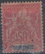 FRANCE ! Timbre Ancien De DIEGO SUAREZ Depuis 1892 N°35 - Diégo-Suarez (1890-1898)
