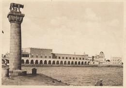 10895-RODI-IL PALAZZO DEL GOVERNO VISTO DAL MARE - N°.4 - SERIE QUARTA - LA NUOVA CITTA' ITALIANA (PRIMA PARTE) - Grecia