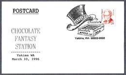 CHOCOLATE FANTASY STATION - HATS OFF TO CHOCOLATE. Yakima WA 1996