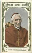Ref A508- Chromo - Chocolat Guerin Boutron -religions- Religion Christianisme -religieux -cardinal Richard -paris - - Guérin-Boutron